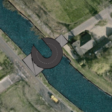 Cirkelbrug Klarenbeek